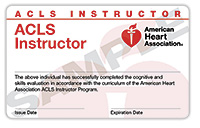 ACLS Instructor Card